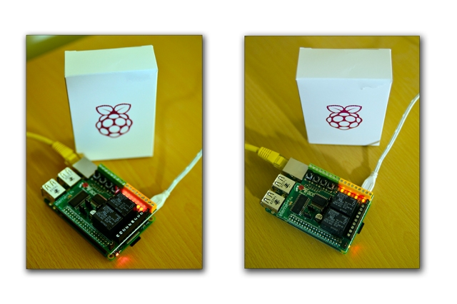 PiFace Digital 2 Installed on the Raspberry Pi B+